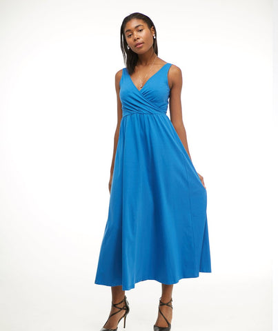 Lilliana Maxi Dress - Milano Blue