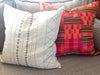 Hand-Stitched Mud Cloth Pillow Cover