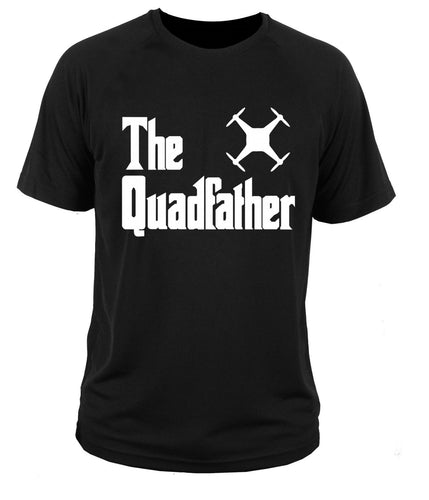 The Quadfather T-shirt - Drone_Holic