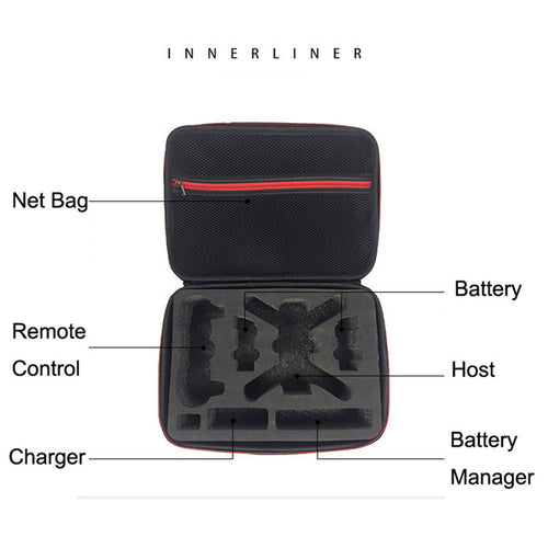 EVA Storage Bag Waterproof Case Cover Shoulder for DJI Spark Drone & Accessories Futural Digital JUN24 - Drone_Holic