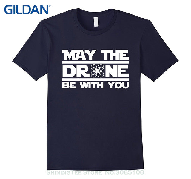 May The Drone Be With You t-Shirt - Drone_Holic