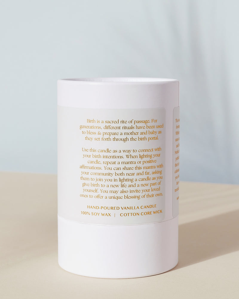Birth Blessing Candle