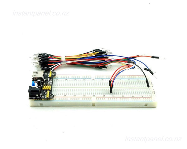 MB102 Breadboard USB Power Supply Jumper cable Set