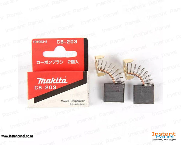 Makita Carbon Brushes CB203 x 2 pcs Part Number 191953-5
