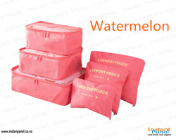 Travel Storage Bag (watermelon color)