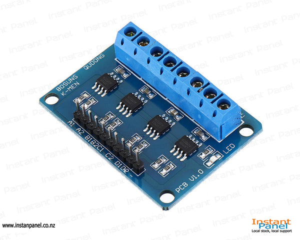 L9110S 4 Channel DC Stepper Motor Driver Board H Bridge L9110 Module for Arduino