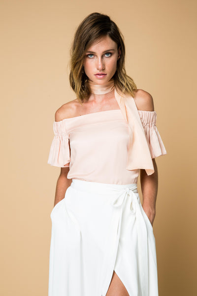 Dinner Date Top - Pink
