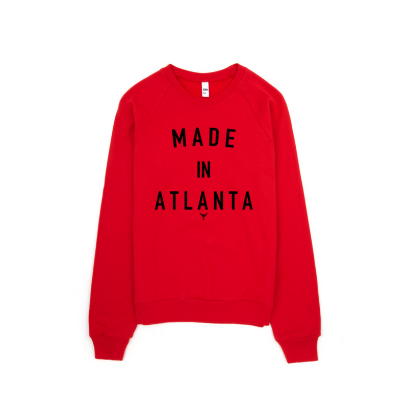 Made In Atlanta Crewneck(Limited Edition)