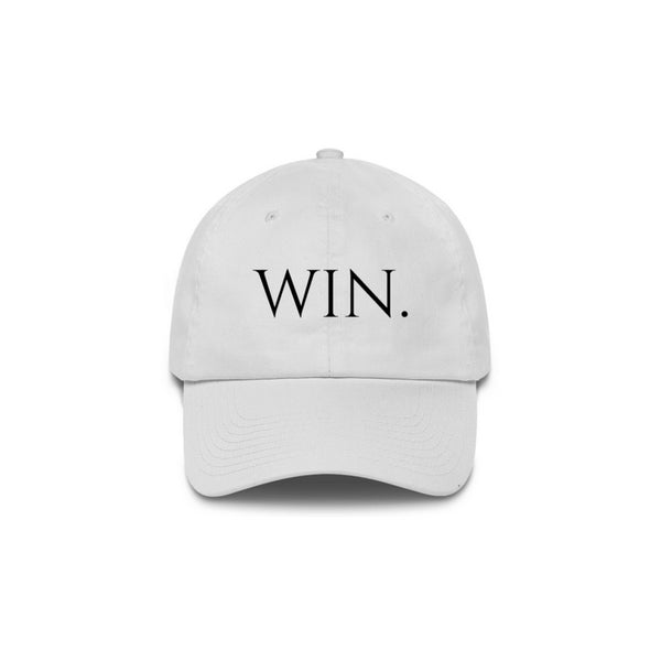 Win. Dad Hat