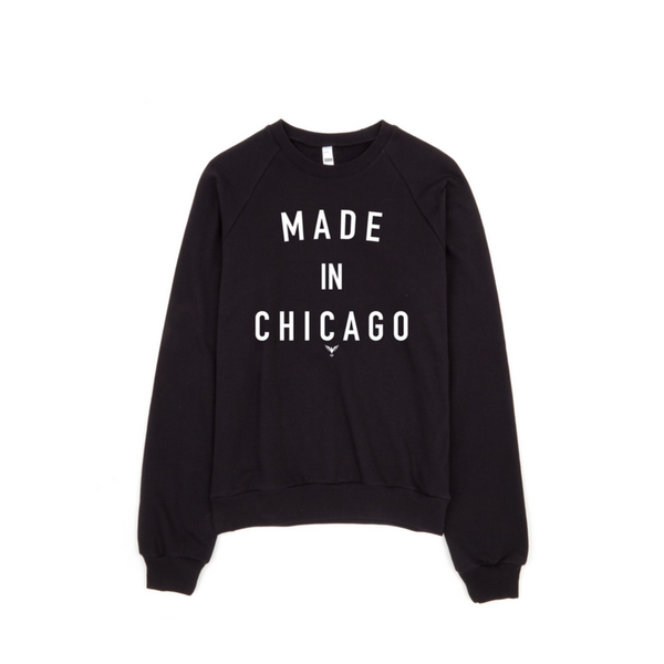 Classic Made In Chicago Crewneck