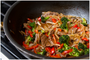 Sesame Beef and Vegetable Stir-Fry