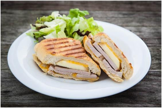 Apple Pork Panini