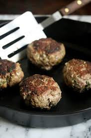 FIT Brine Lamb Burger