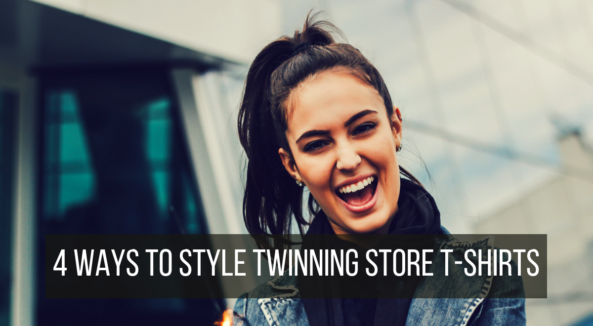 4 ways to style your Twinning Store t-shirt