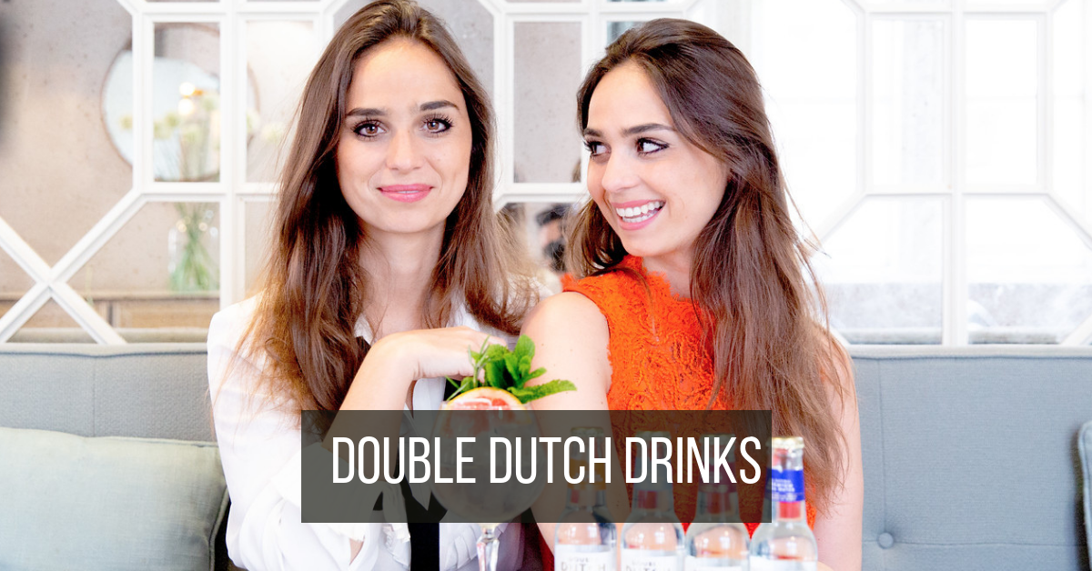 Getting to know the twins behind Double Dutch Drinks