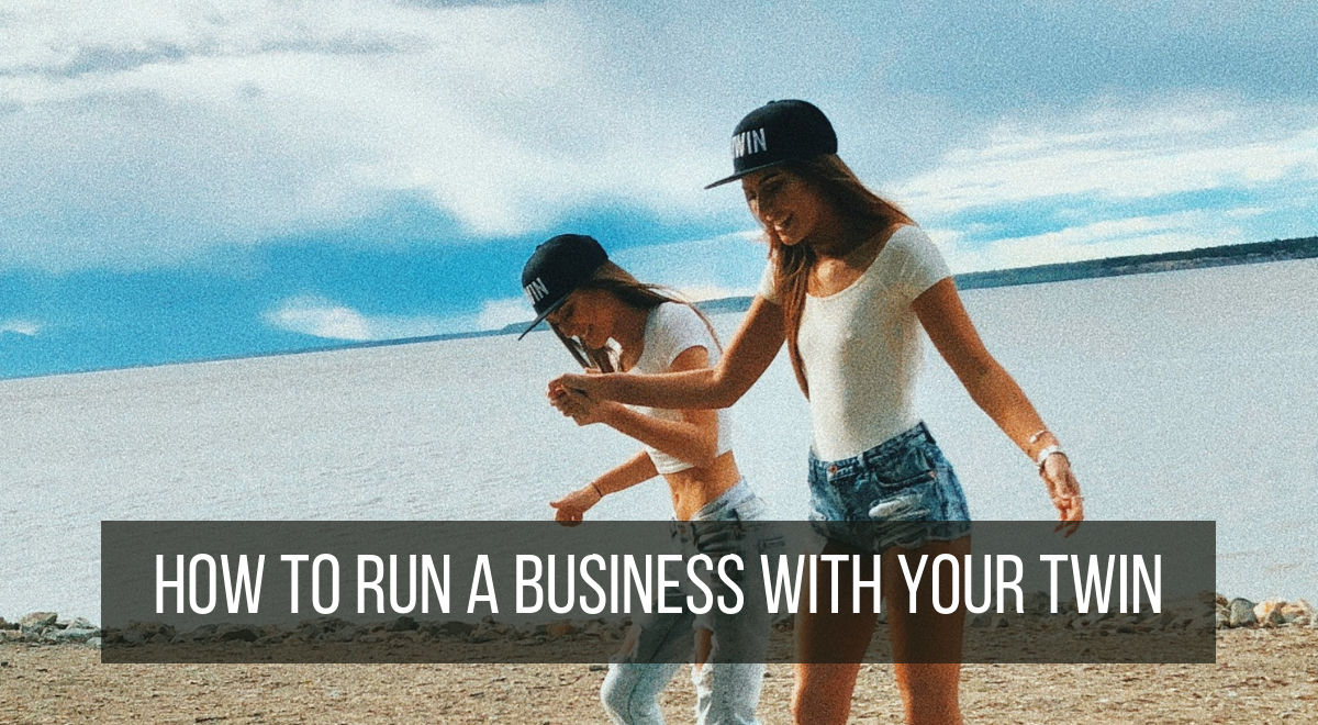 how to run a business with your sibling