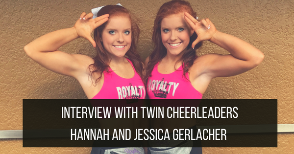 Twin Cheerleaders Hannah and Jessica Gerlacher