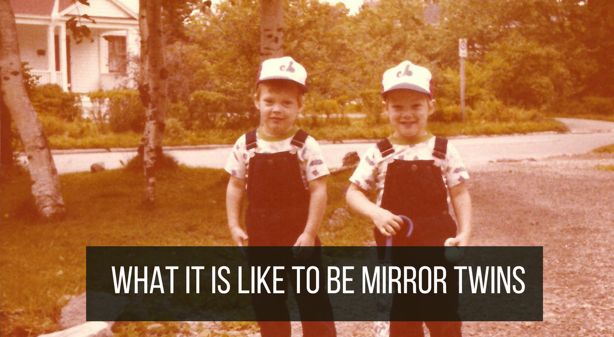 what is mirror image twins and what is it like to be one