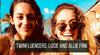 8 quick questions with Refinery 29's Lucy Fink and twin sister Allie Fink