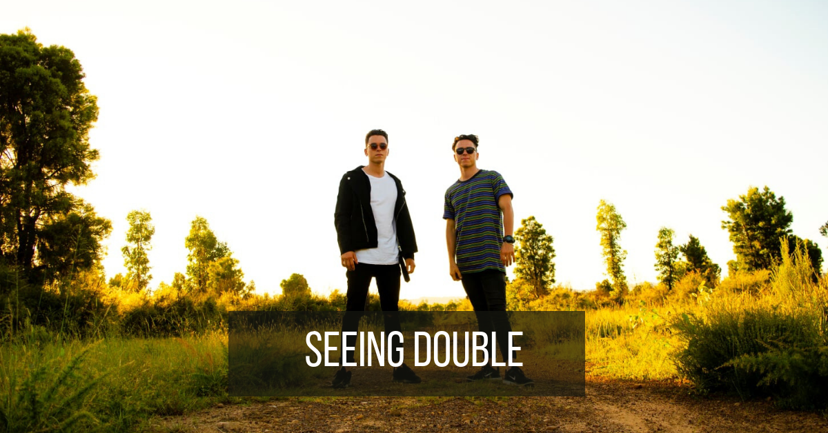 Behind the scenes with twin brothers behind SEEING DOUBLE