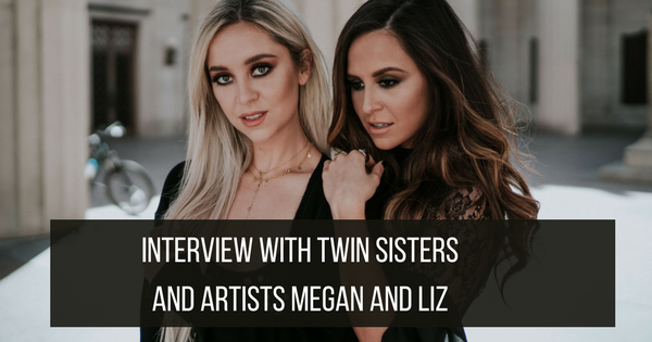 Twinning Store Interview with twins artists Megan and Liz