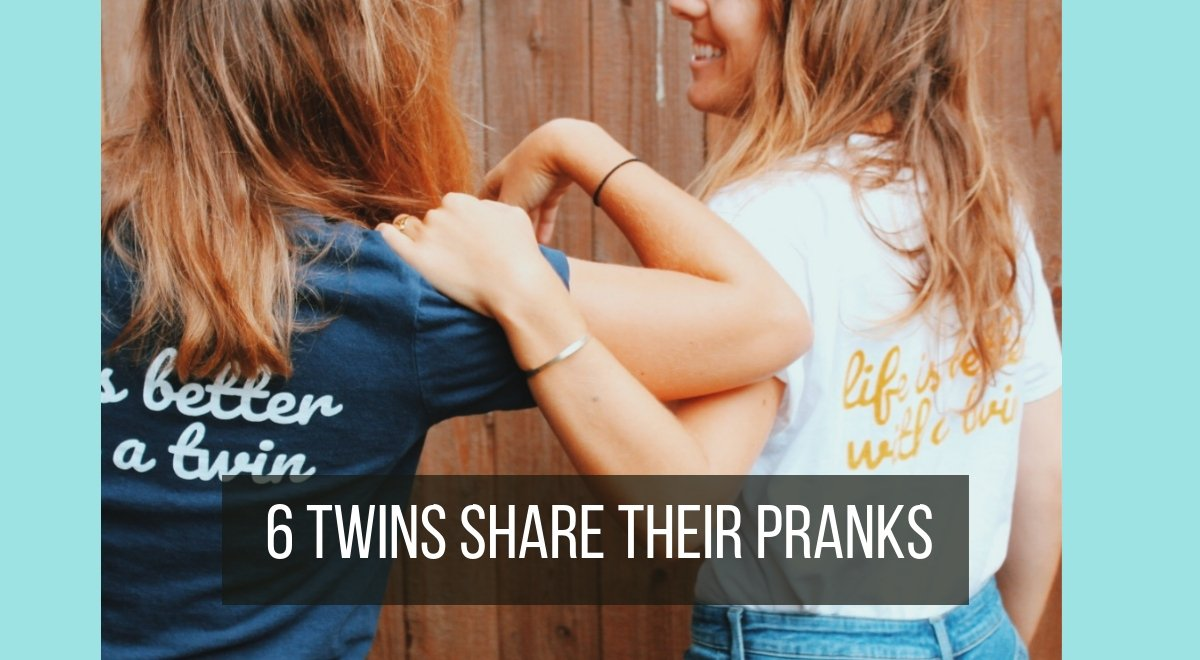 6 twins on their twin pranks