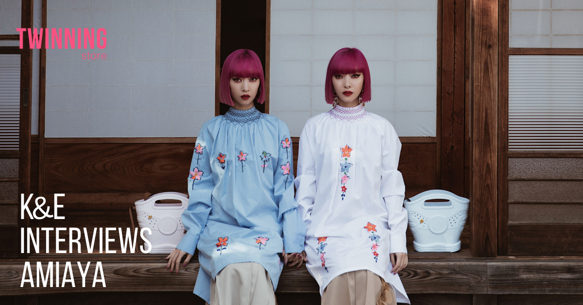 5 quick questions with twin sisters Ami and Aya of Amiaya