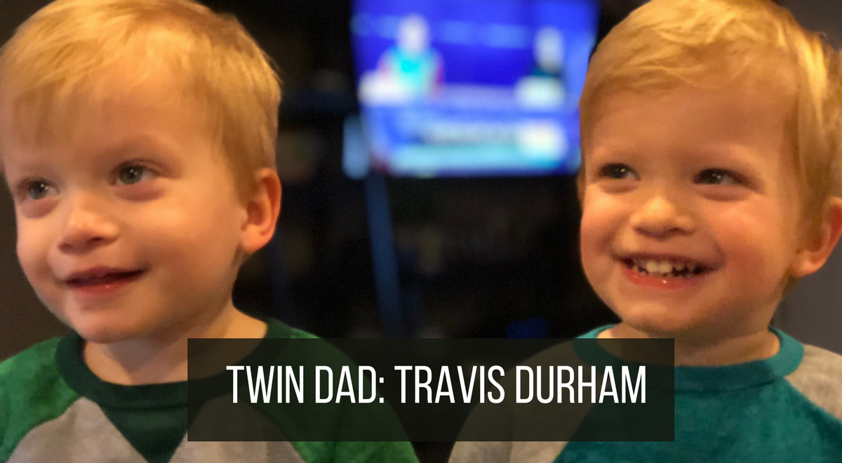 twin dad interview about twin boys 2.5 years old