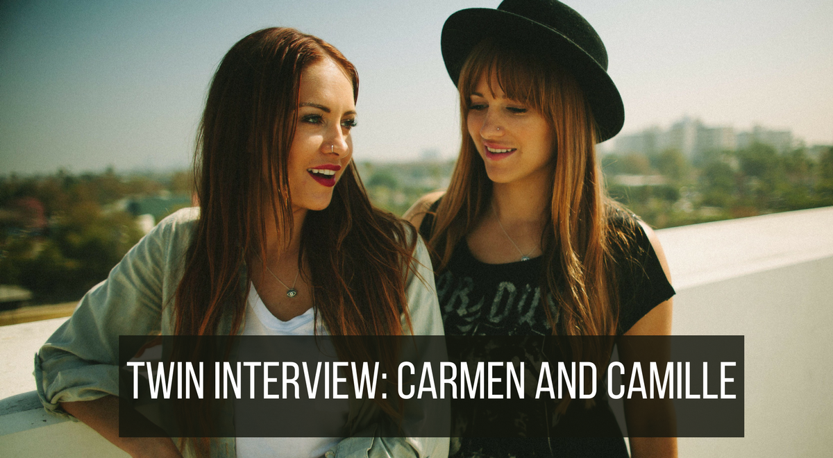 interview twin sisters and artists carmen and camilla
