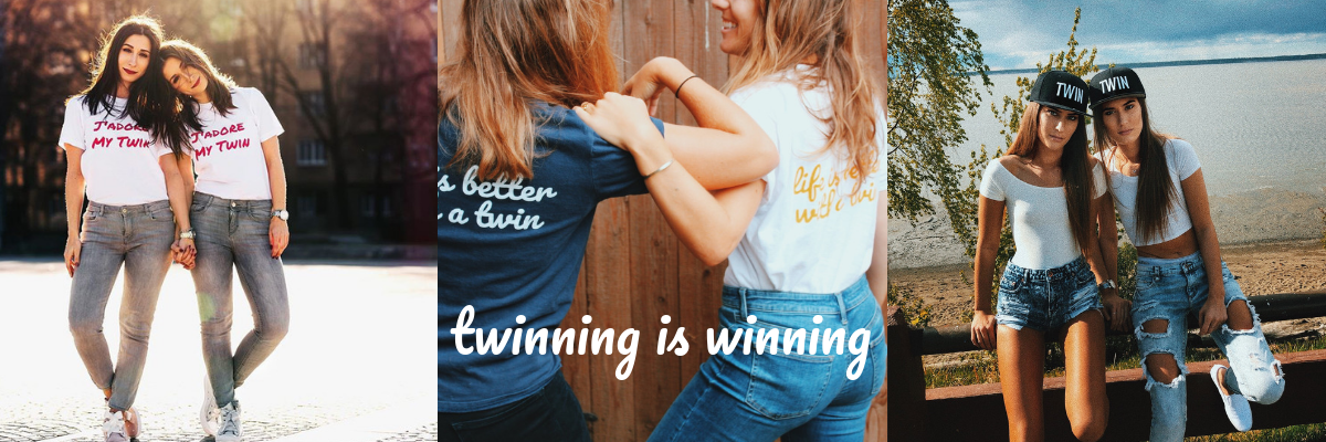 Our favorite 5 twin sayings perfect for Instagram captions