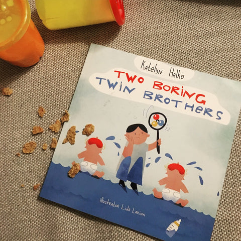 two boring twin brothers book