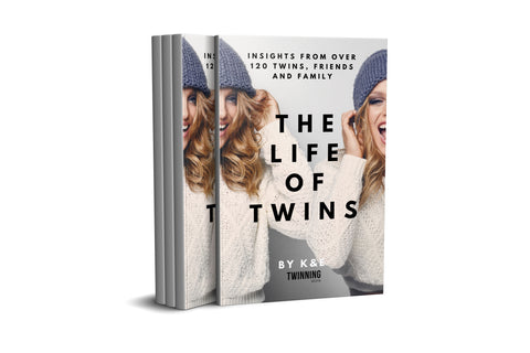 Our must-read twin book is out now:   The Life of Twins - 120 Insights from twins, friends, and family: