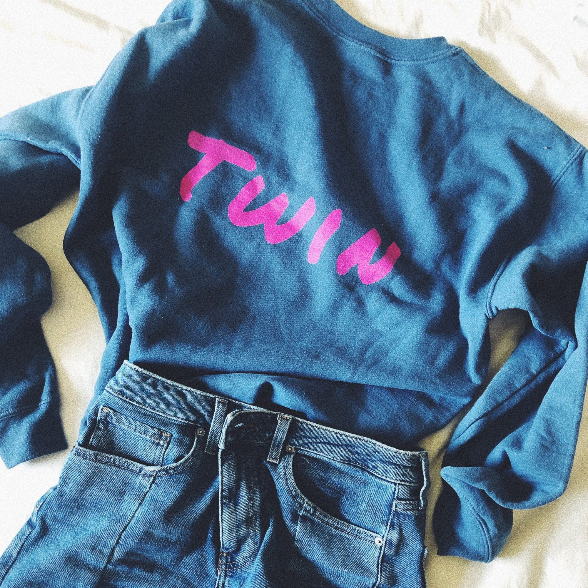 Twin Sweater (Blue)