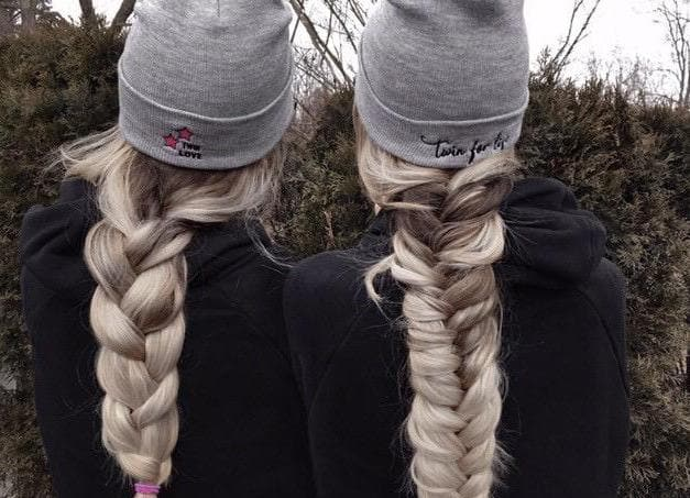 Twin for Life Beanie (Grey)
