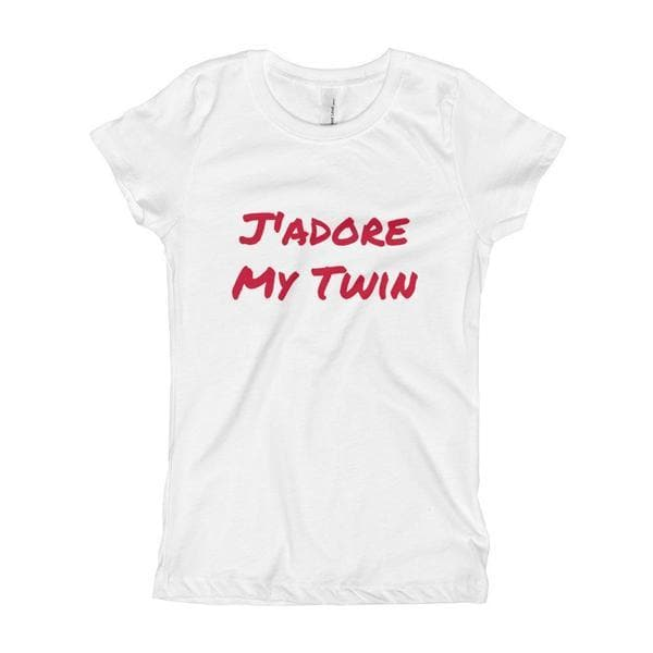 J'adore My Twin Girl T-shirt