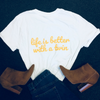 LIFE IS BETTER WITH A TWIN (WHITE) - Fashion for twins TWINNING STORE