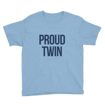 PROUD TWIN KIDS T-SHIRT - Fashion for twins TWINNING STORE