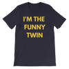 I'm The Funny Twin T-shirt (Navy) - Fashion for twins TWINNING STORE
