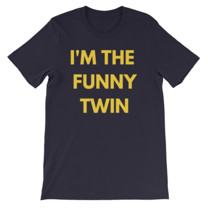 I'm the Funny Twin (NAVY)
