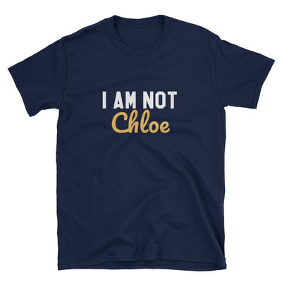 Customizable I AM NOT .... T-shirt (Navy) - Fashion for twins TWINNING STORE