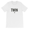 Twin #1 Print T-shirt (White) - Fashion for twins TWINNING STORE