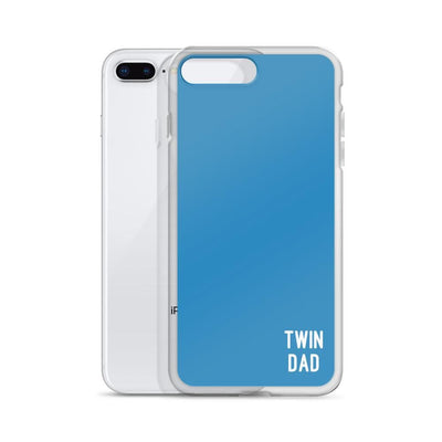 Twin Dad Iphone Case (Blue)