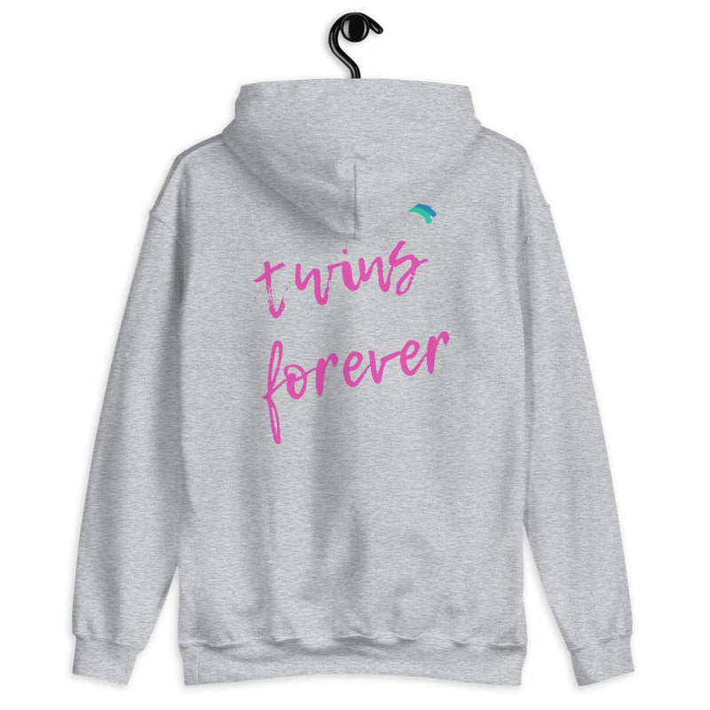 Twins Forever Hoodie (Grey)