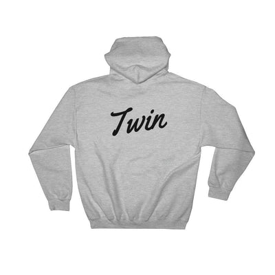 TWIN HOODIE (GREY) - Fashion for twins TWINNING STORE