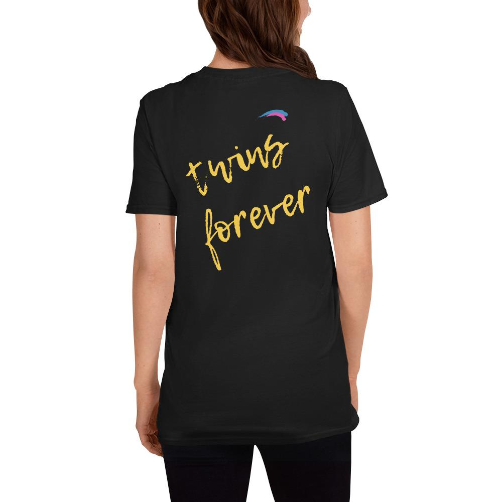 Twins Forever T-Shirt (Black)
