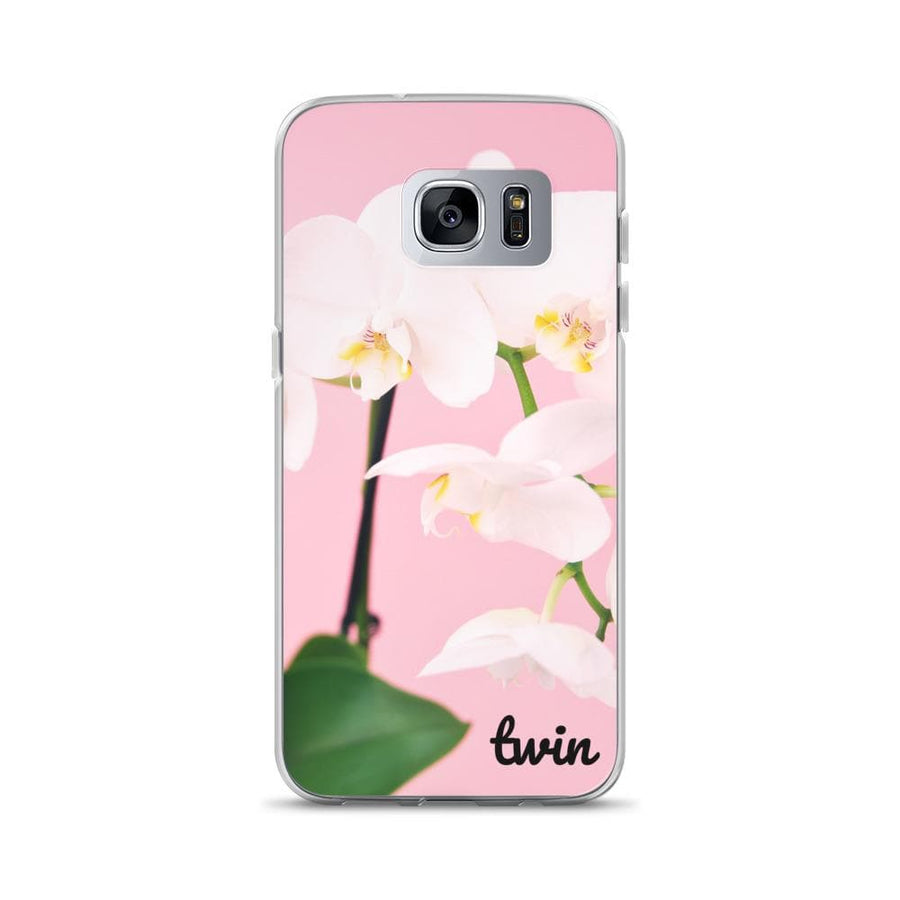 Twin Flower Samsung Phone Case - Fashion for twins TWINNING STORE
