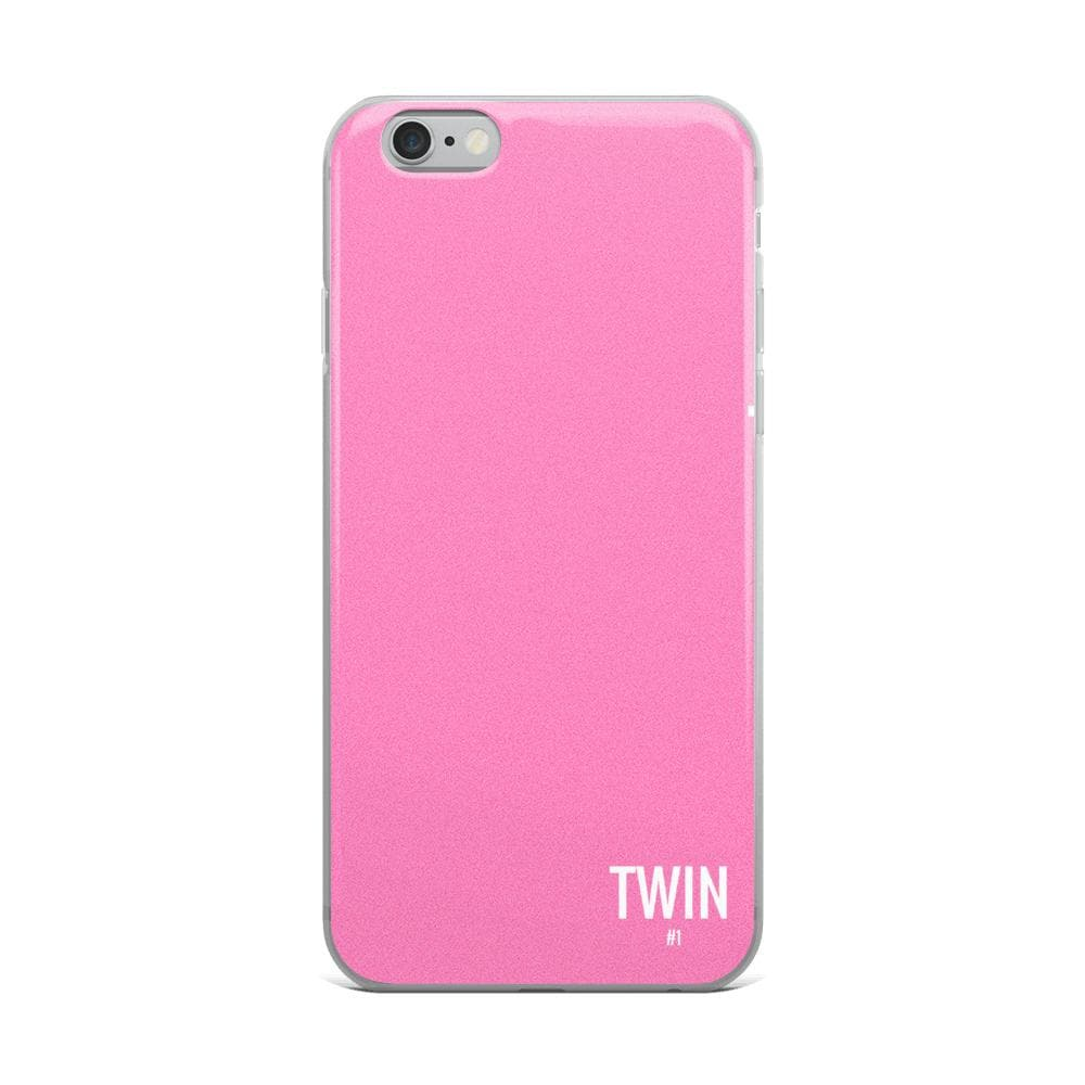 Twin #1 Iphone Case (Pink)