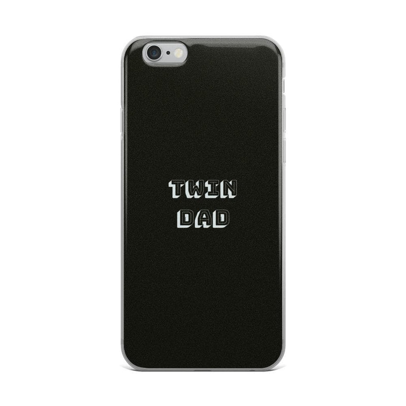 Twin Dad Iphone Case (Black)