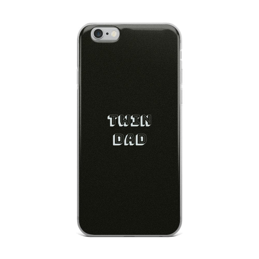 Twin Dad Iphone Case (Black) - Fashion for twins TWINNING STORE