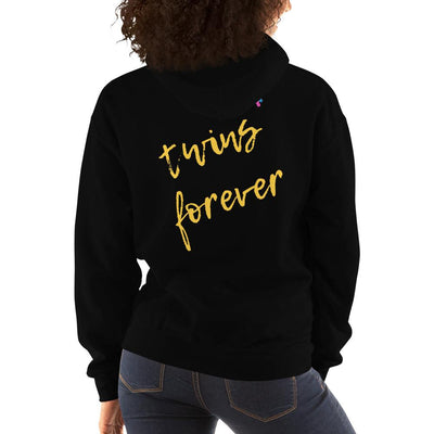 Twins Forever Hoodie (Black/Yellow)